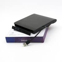 CASE MOBILE EXTERNAL DVD-RW SATA USB 3.0 9.5mm Black