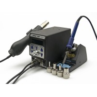 Станция Soldering station 2in1 SMD rework station - YIHUA 899D II