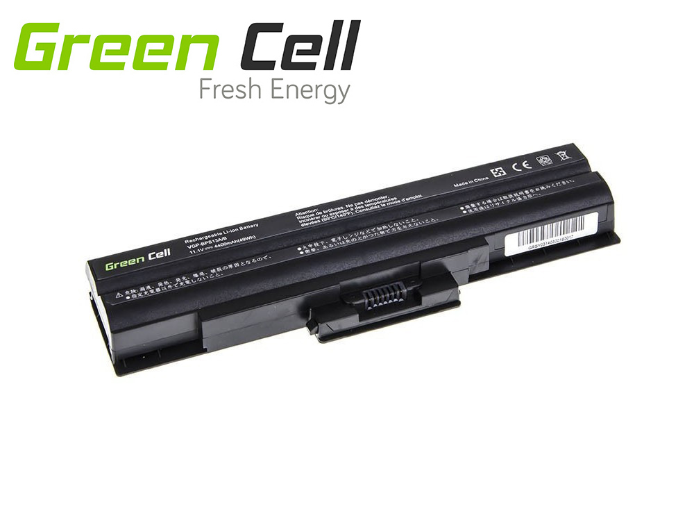 Батерия Green Cell за SONY Vaio VGN-CS VGN-FW VPC-F VPC-Y
