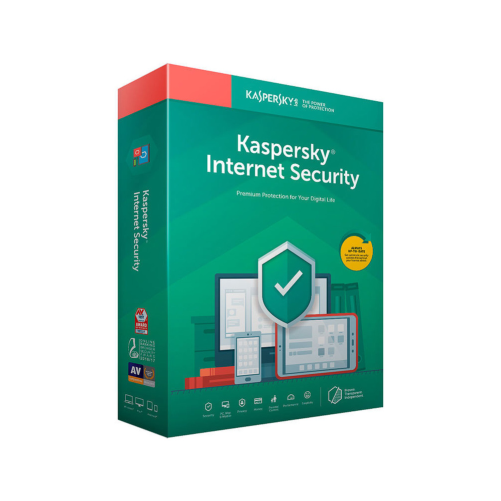 софт. Kaspersky Internet Security KIS MD 10PC 1 Year BOX / FFP Retail